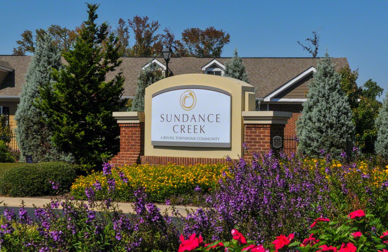 Sundance Creek Monument Sign