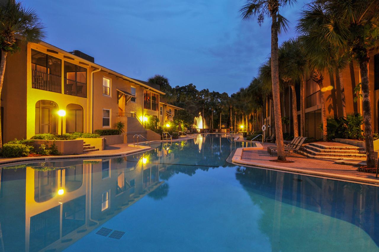 Jacksonville Twilight Pool