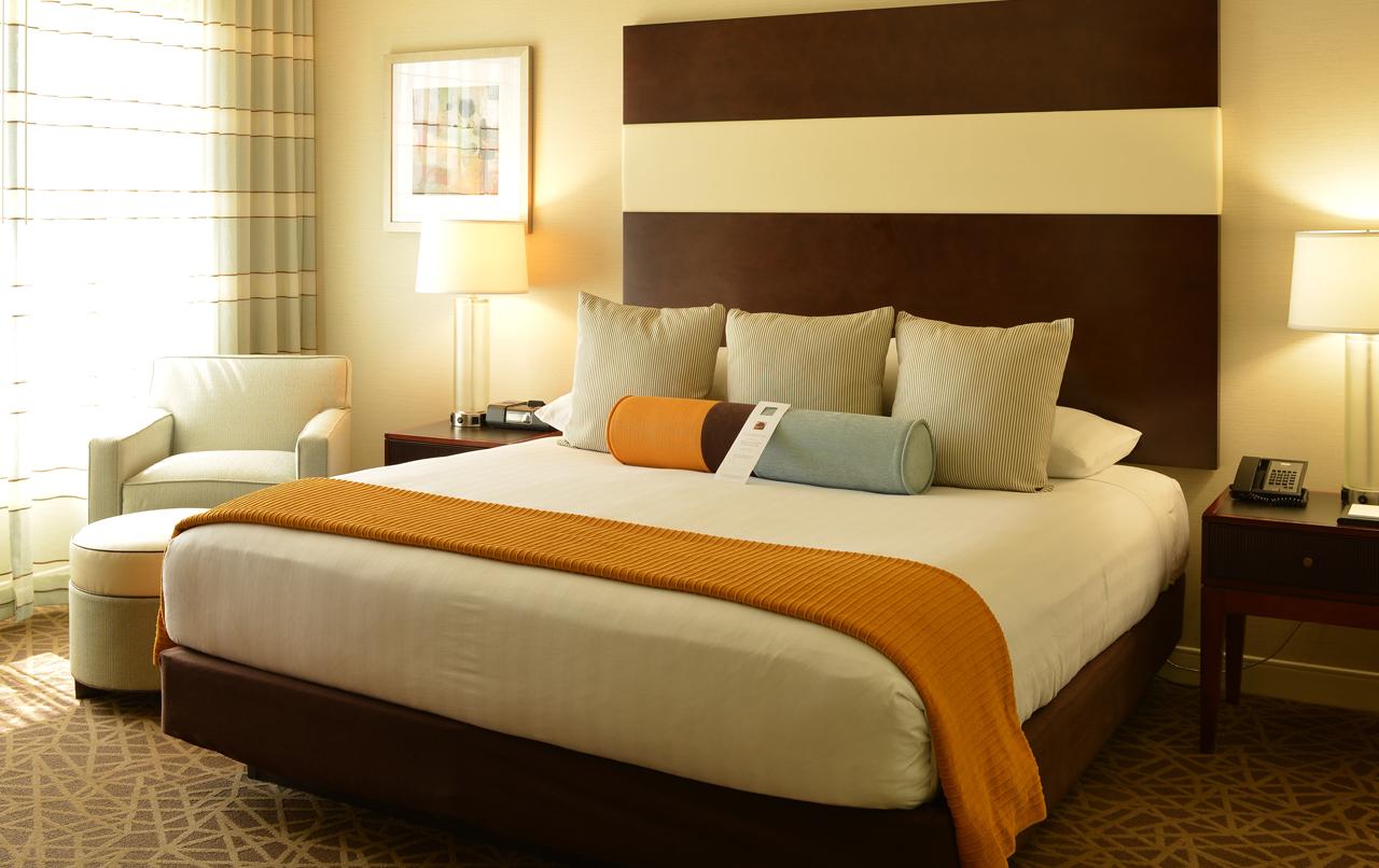 Hyatt Suites Bedroom